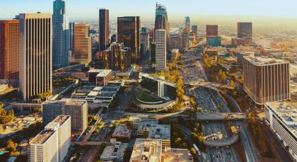 Destination Los Angeles in USA