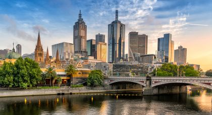 Destination Melbourne in Australia