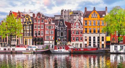 Destination Amsterdam in European Cities