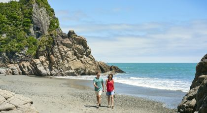 Destination Punakaiki in New Zealand