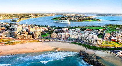 Destination Newcastle in Australia