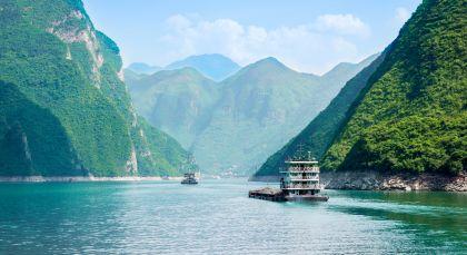 Yangtze Kreuzfahrt in China