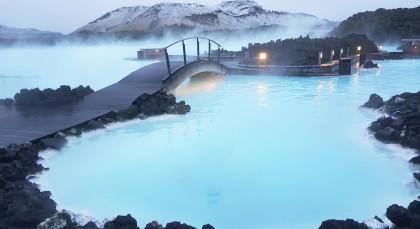 Reykjanes / Blaue Lagune in Island