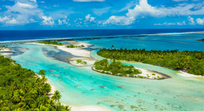 Destination Rangiroa in French Polynesia