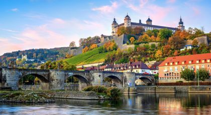 Destination Wurzburg in Germany