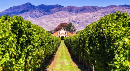 Destination Blenheim in New Zealand