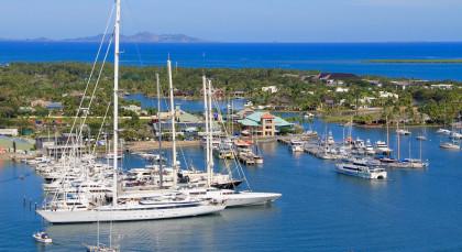 Destination Port Denarau in Fiji