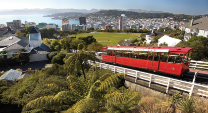 Destination Wellington in New Zealand