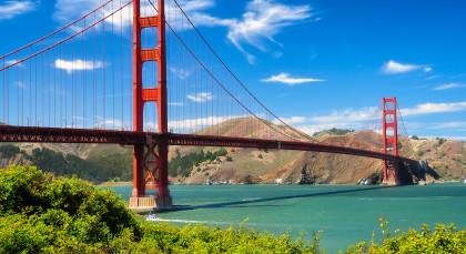 Destination San Francisco in USA