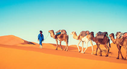 Erg Chegaga in Marokko