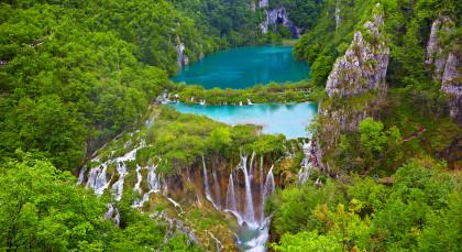 Destination Plitvice Lakes in Croatia & Slovenia