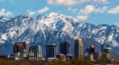 Destination Salt Lake City in USA