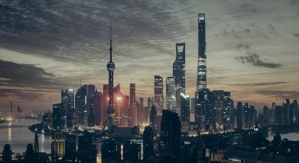 Destination Shanghai in China