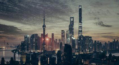 Destination Shanghai in China