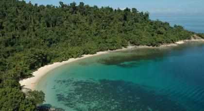 Kota Kinabalu Beach in Malaysia