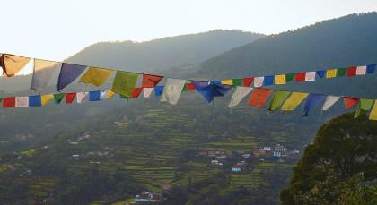 Pharping in Nepal
