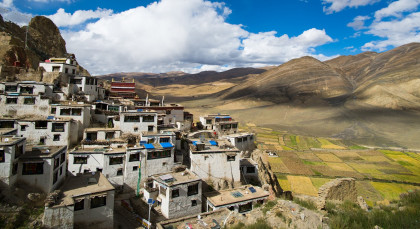 Destination New Tingri in Tibet