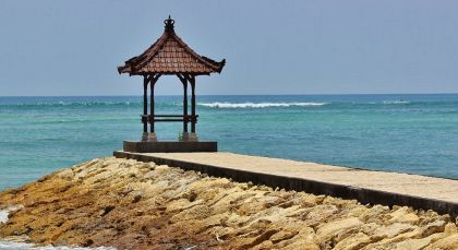 Bali, Nusa Dua in Indonesien