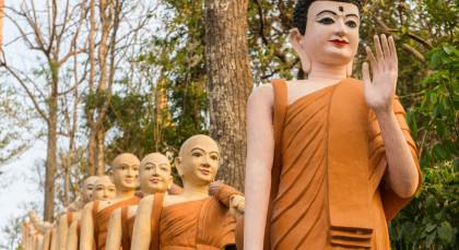 Kratie in Kambodscha