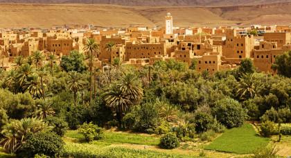 Skoura in Marokko