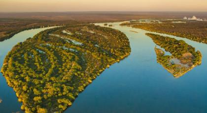 Lower Zambezi in Sambia