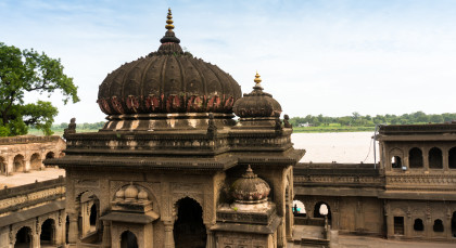 Maheshwar in Nordindien