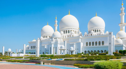 Destination Abu Dhabi in United Arab Emirates