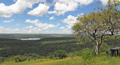 Lake Mburu in Uganda