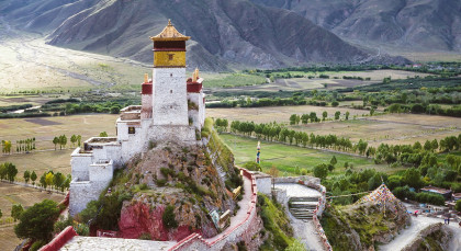 Destination Tsetang in Tibet