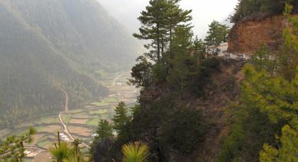 Phobjikha Valley/Gangtey in Bhutan