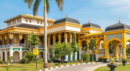 Sumatra, Medan in Indonesien