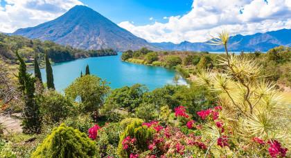 Atitlan-See in Guatemala