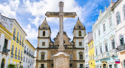 Destination Salvador da Bahia in Brazil