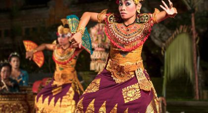 Bali, Ubud in Indonesien