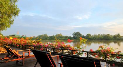 Abai, Kinabatangan River in Malaysia