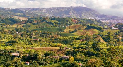 Coffee Region in Kolumbien