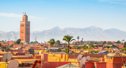 Destination Marrakesh in Morocco
