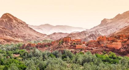 Destination High Atlas Mountains in Morocco