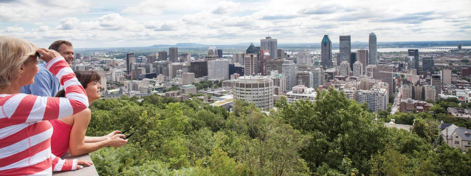 View from Mont Royal Park