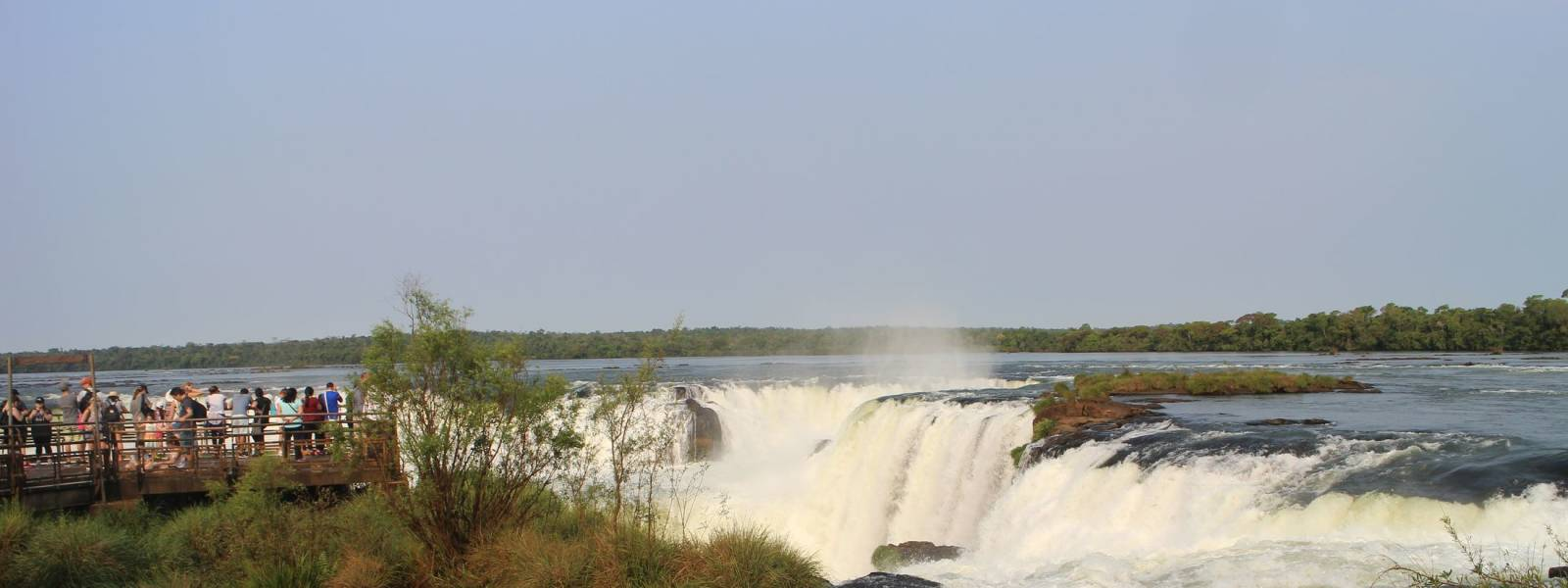 Iguazu Falls Argentina side September trip by