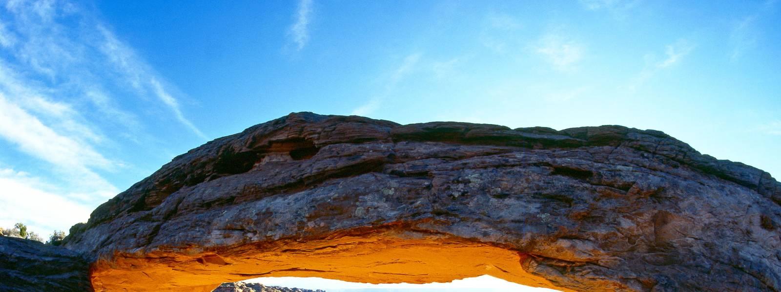 Mesa archway