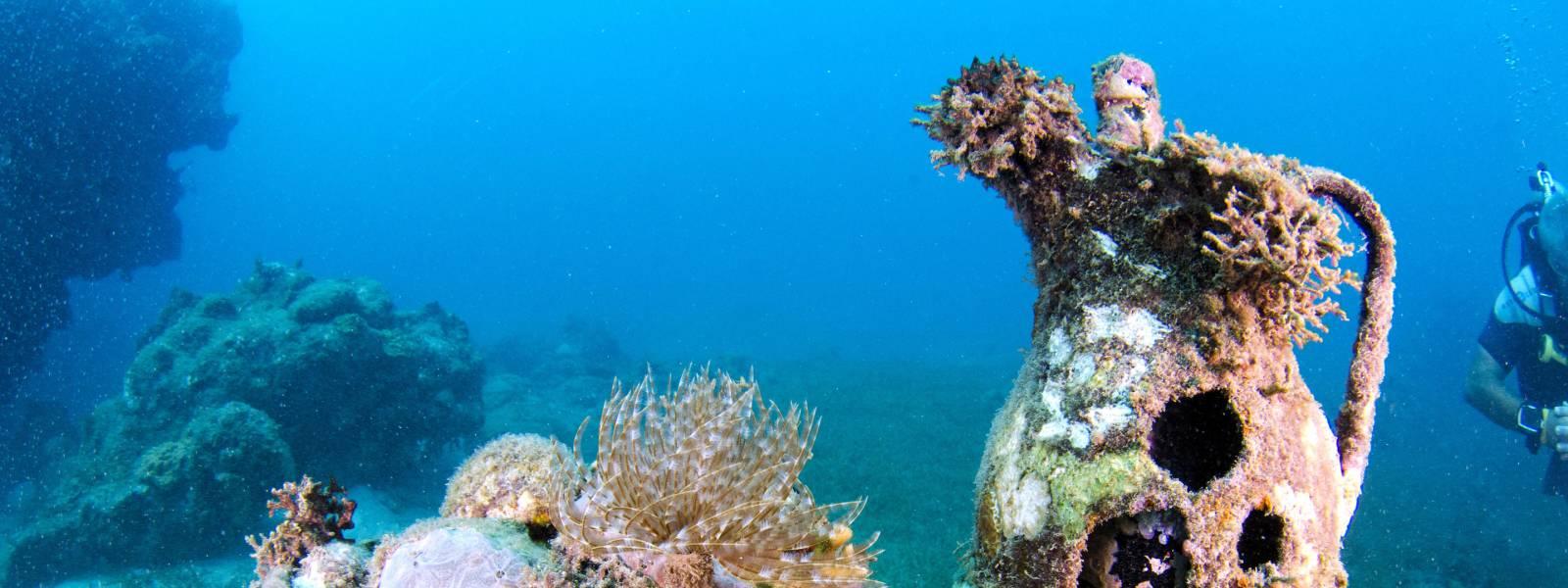 underwater sculptures grenada tourism authority