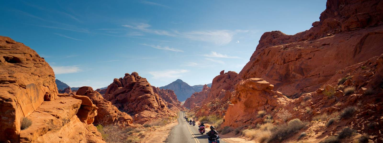 Motorcycle tour of the Wild West