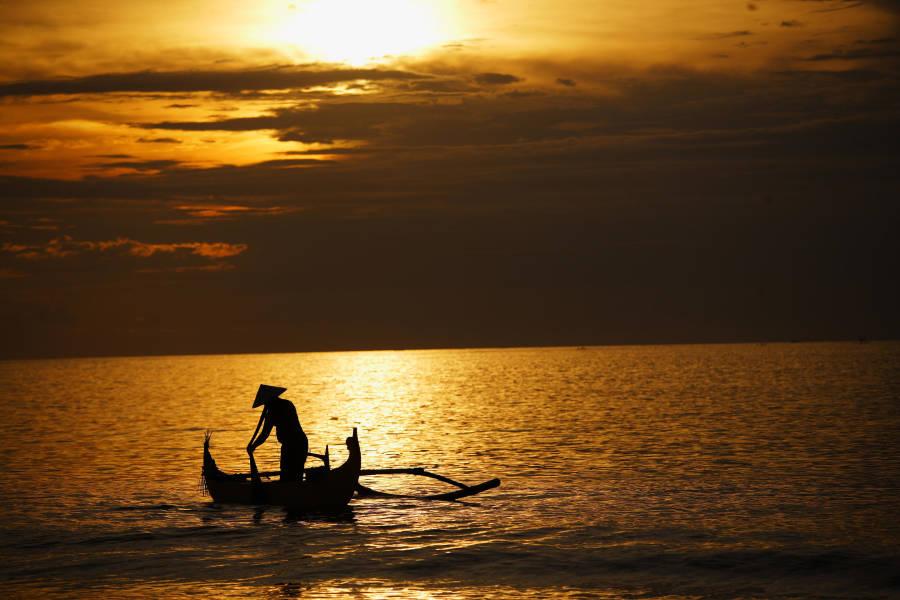 Jimbaran Beach Sunset, Bali