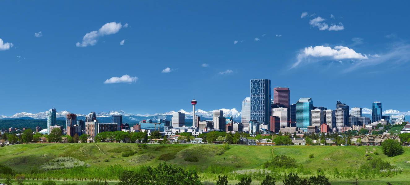 Calgary Skyline, Calgary, Alberta