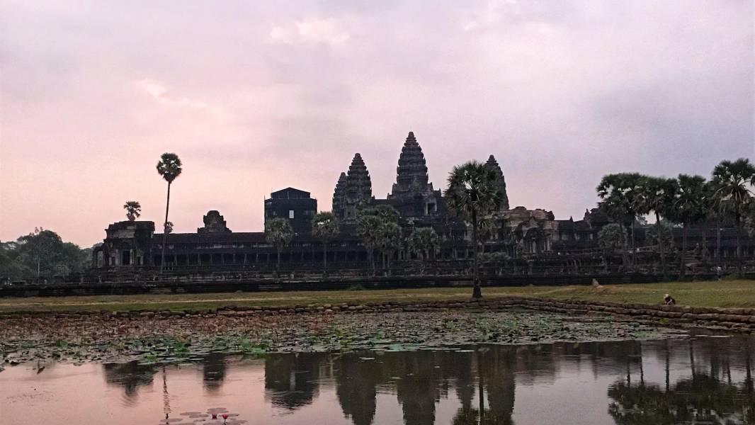 Sunrise at Angkor