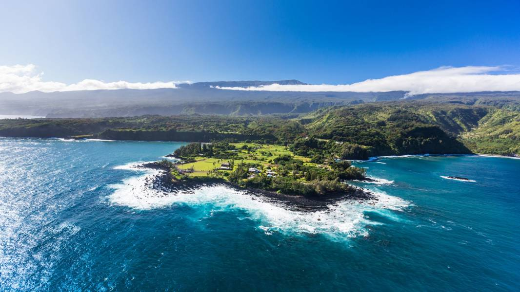 East Maui Cliffs in Hawaii