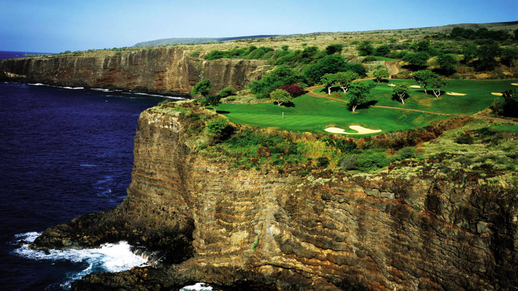 Manele Bay Cliffs