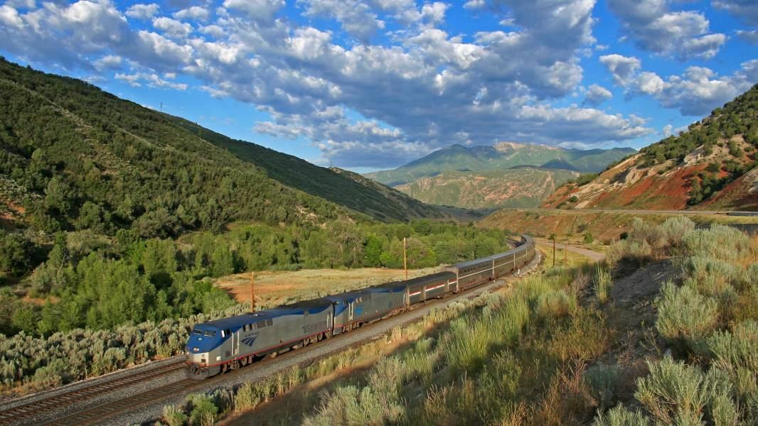 California Zephyr in Utah
