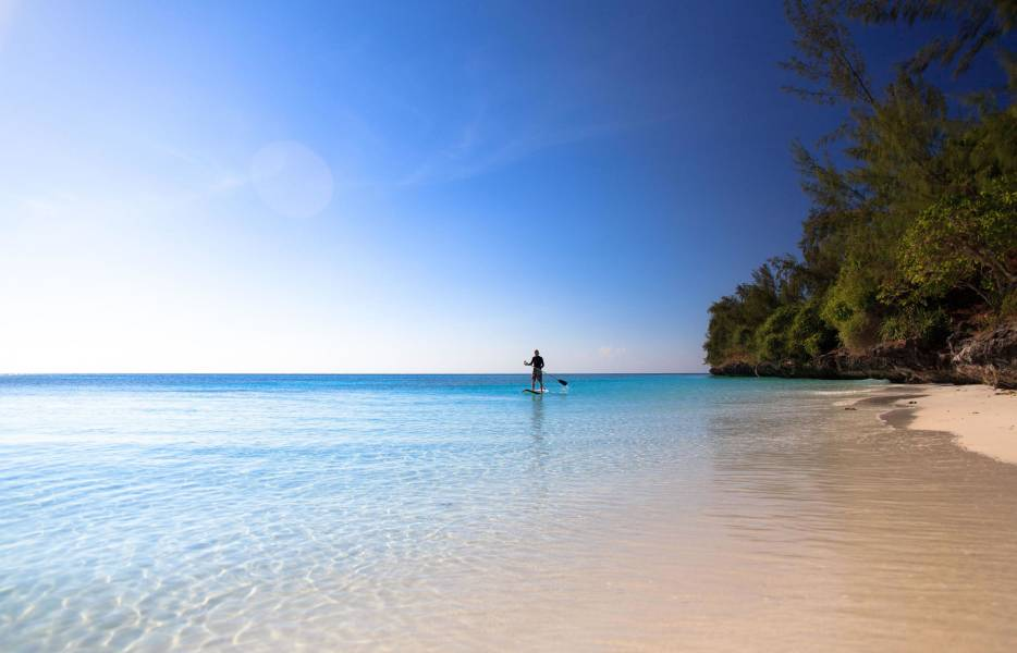 Beach, Pemba Island, Zanzibar